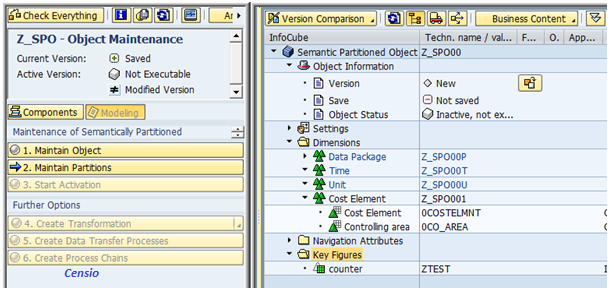 sap bw  Le « Semantic Partitioned Object » une nouveauté SAP Netweaver BW 7.3
