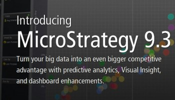 MicroStrategy 9.3